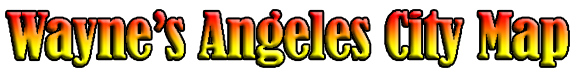 Angeles City Map Banner